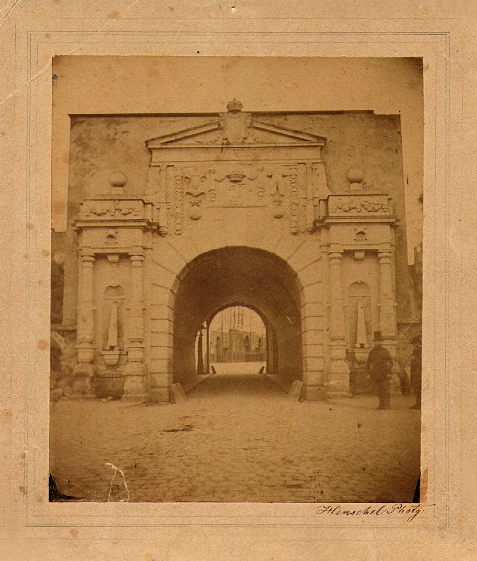 Vesterport, the West gate, in 1857
