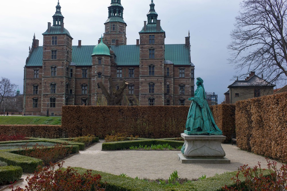 The Royal palace and gardens of Rosenborg