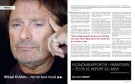 Intervju med Micke Rickfors för Konsulten, februari 2009.   Foto: Hasse Eriksson