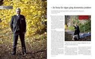Intervju med Charlie Söderberg för Konsulten, oktober 2010.   Foto: Mats Åsman