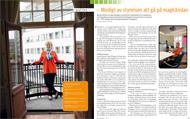 Intervju med Elisabeth Thand Ringqvist för Konsulten, maj 2012.   Foto: Mats Åsman