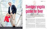 Intervju med Günter Mårder för Konsulten, 2015. Foto: Malin Sydne