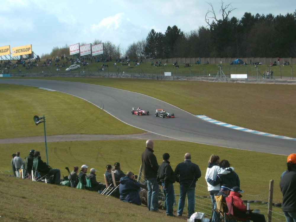 Single seater racing at Donington Park