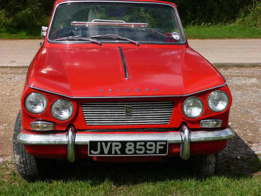 The Triumph Vitesse 2-litre