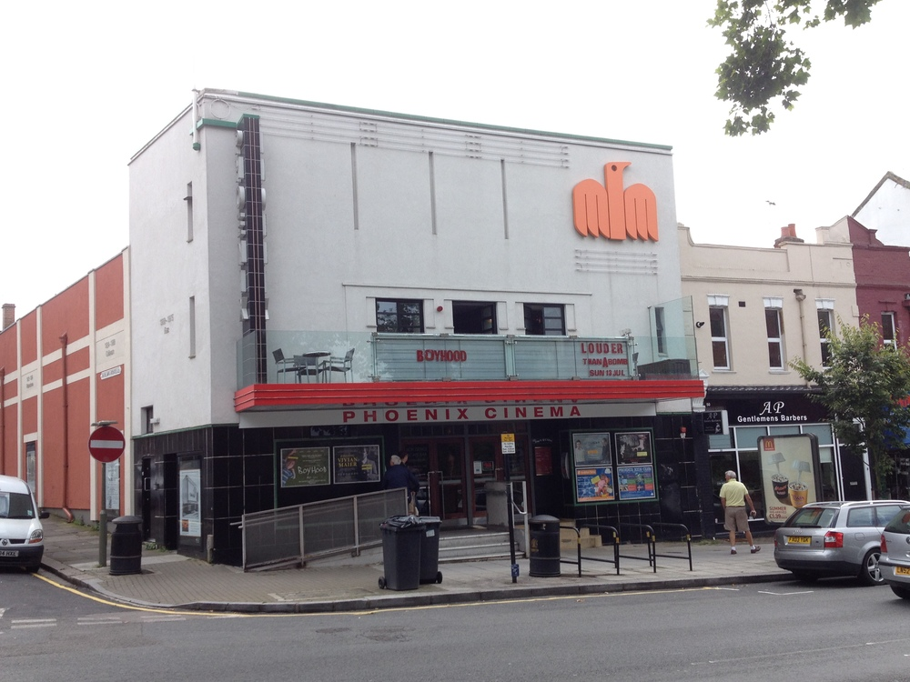 The Phoenix cinema at East Finchley, London