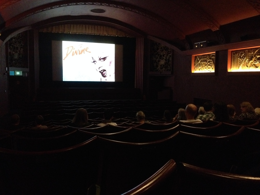 The Phoenix cinema's divine single screen!