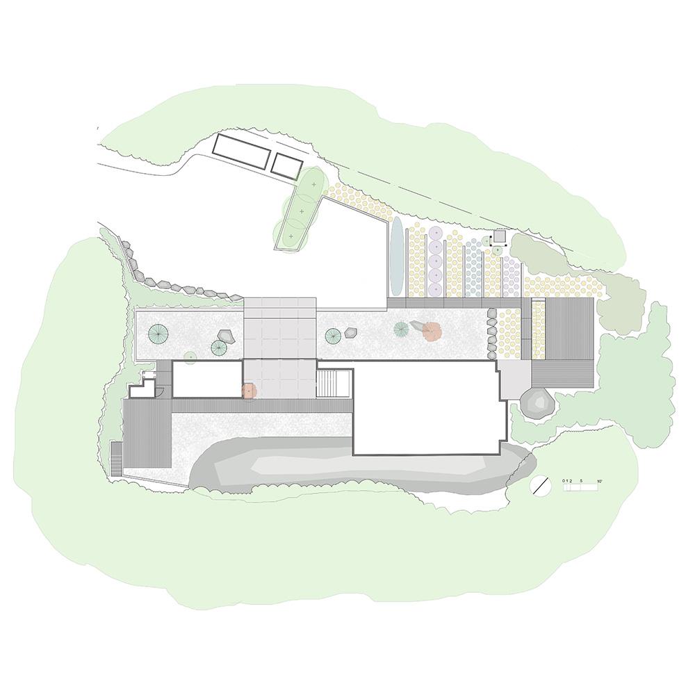 Brian Mackay Lyons House - Landscape Design