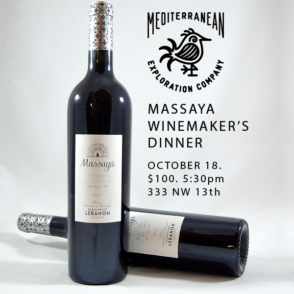Mediterranean Exploration Company Massaya Winemaker's Dinner