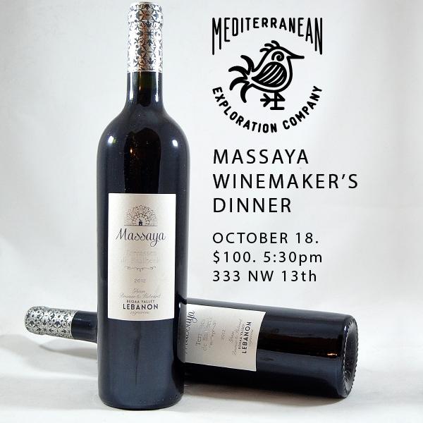 Mediterranean Exploration Company Massaya Winemaker's Dinner