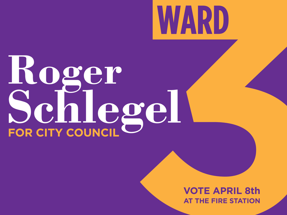 Roger for Ward 3