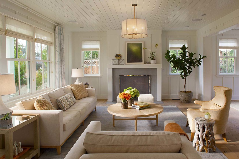 Modern organic interiors Interior design companies in san francisco