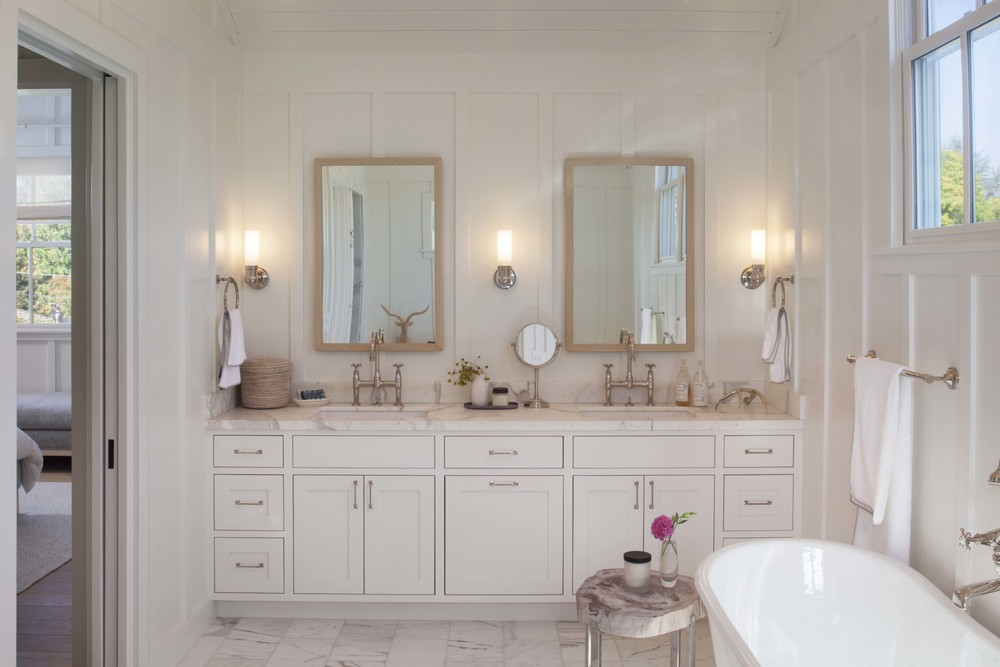 Modern Farmhouse: Master Bath 2