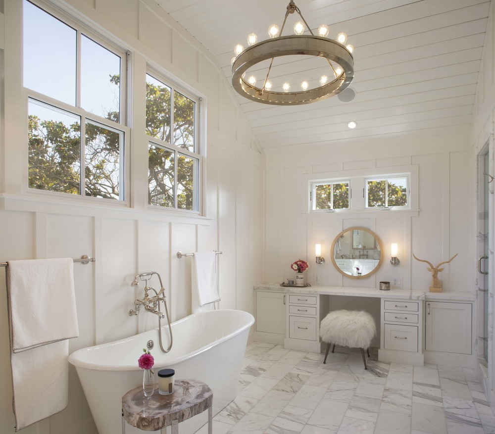 Modern Farmhouse: Master Bath 3
