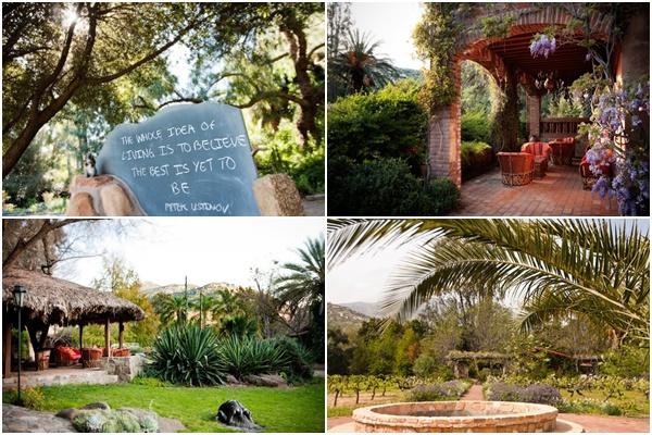 Rancho La Puerta Courtyard