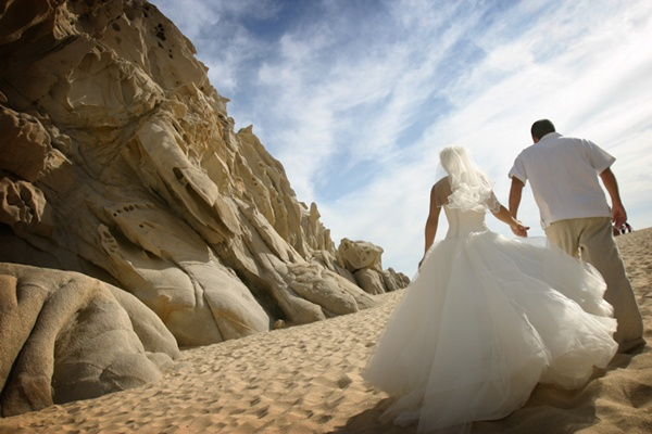 Cabo San Lucas Beach Wedding 1