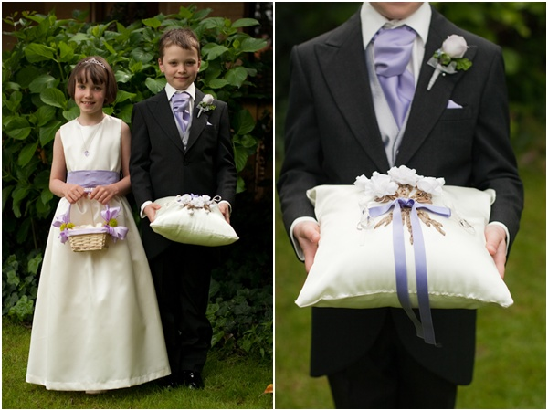 ring bearer pillow flower girl basket