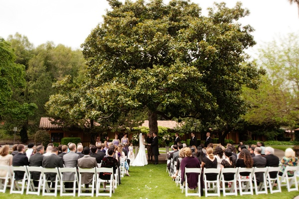 unique outdoor wedding ceremony