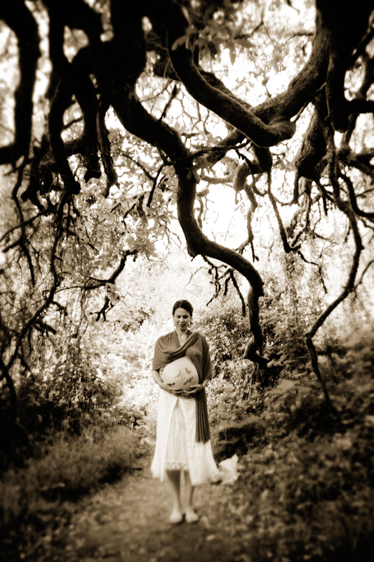 Maternity Photography_ bay area woodsy - 1