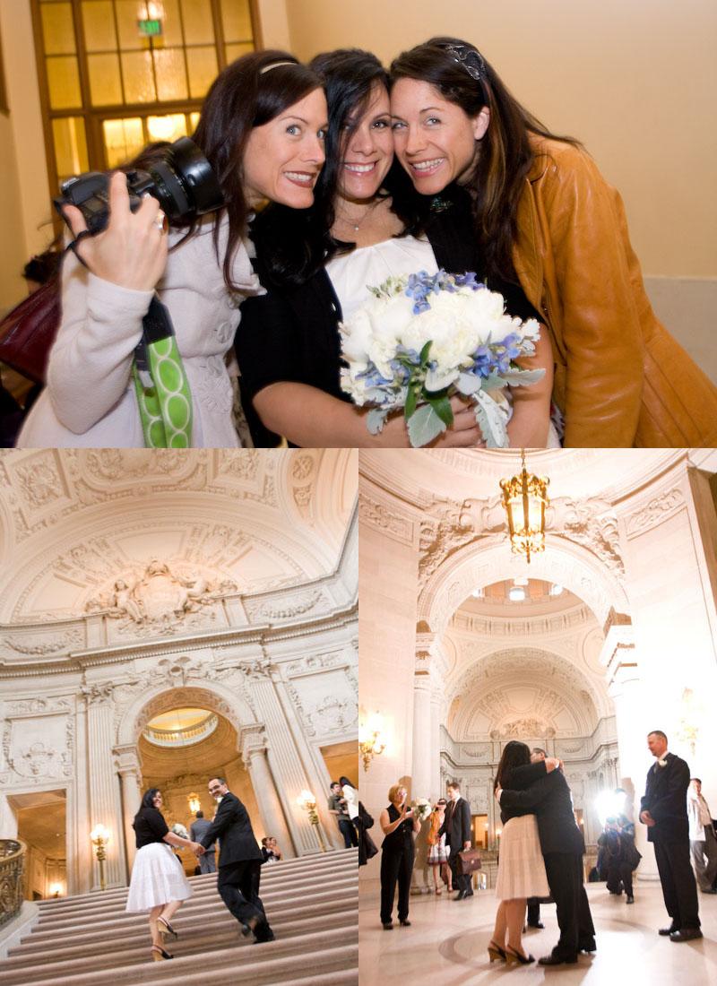 San Francisco City Hall Wedding 12