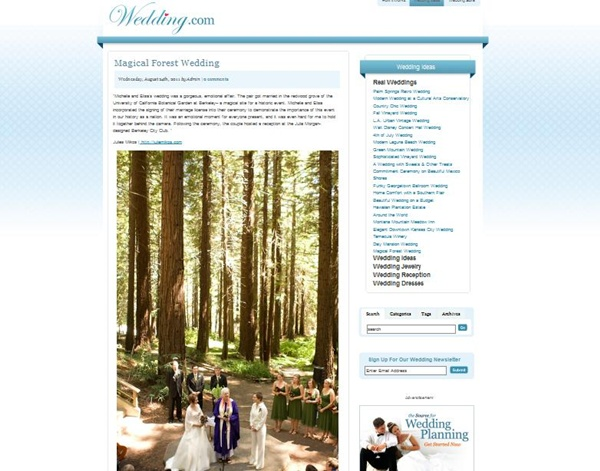 Featured on Wedding