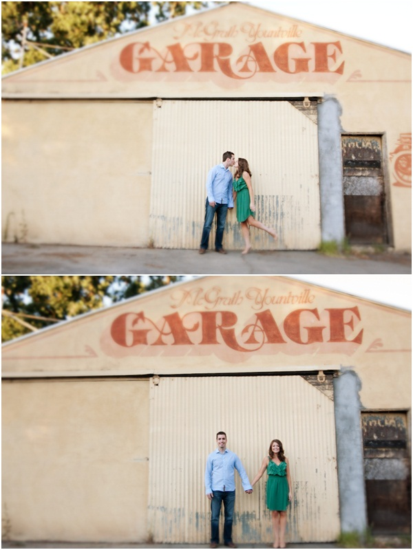 Yountville wine country engagement session 6