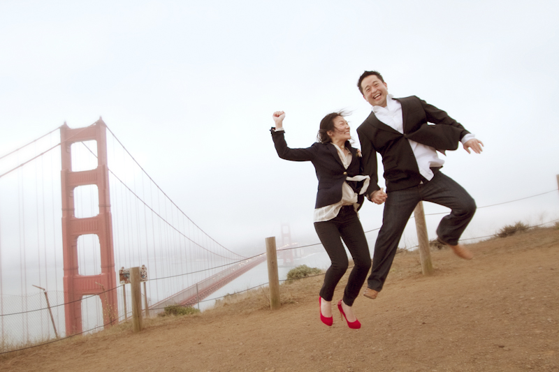 San Francisco engagement session 11
