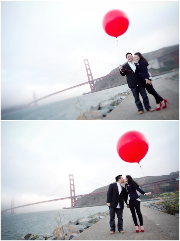 San Francisco engagement session 9