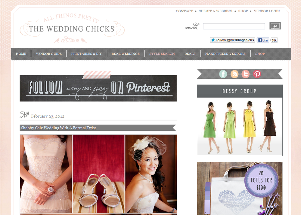 Featured the wedding chicks