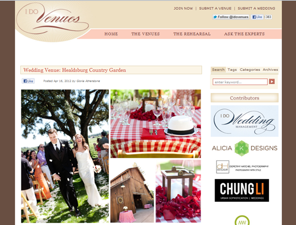 Featured I Do Venues
