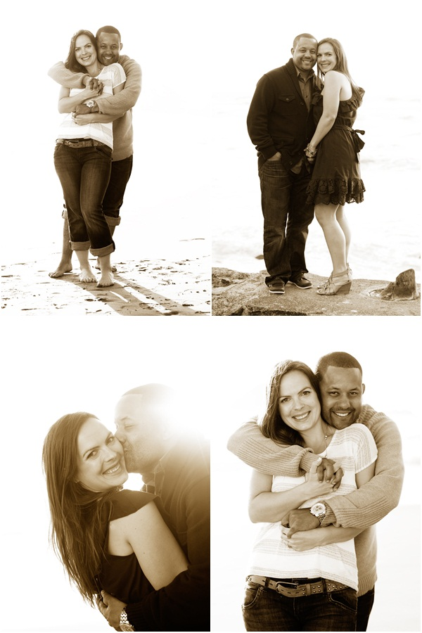 Ocean Beach engagement session 5