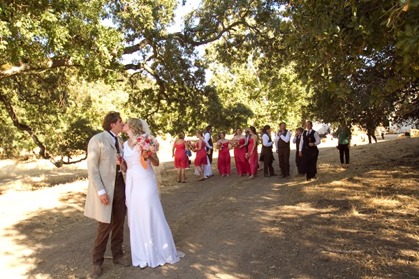 Rustic ranch wedding Julie Mikos 17