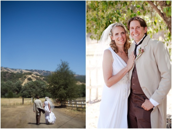 Rustic ranch wedding Julie Mikos 8