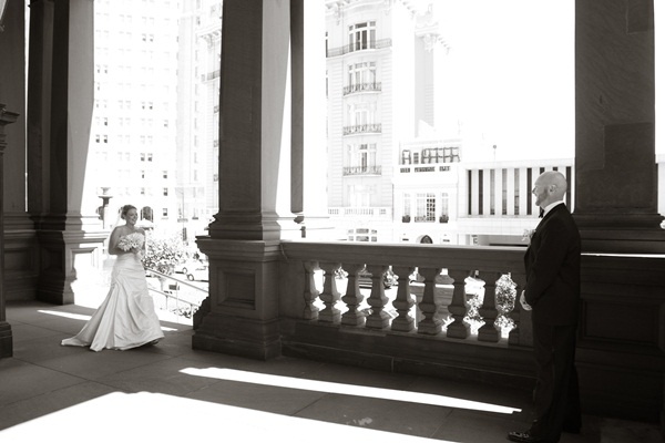Fairmont Hotel San Francisco Wedding 3