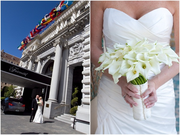 Fairmont Hotel San Francisco Wedding 5