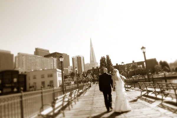 Fairmont Hotel San Francisco Wedding 9