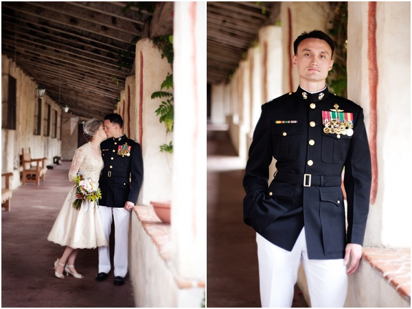 Vintage Military Wedding Julie Mikos Photographer 20