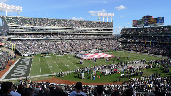 Oakland Raiders Field