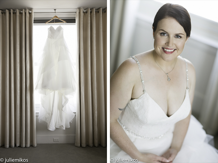 Clift Hotel Wedding Getting Ready Photos