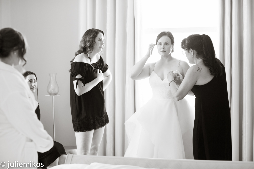 San Francisco Clift Hotel Wedding Getting Ready Photography
