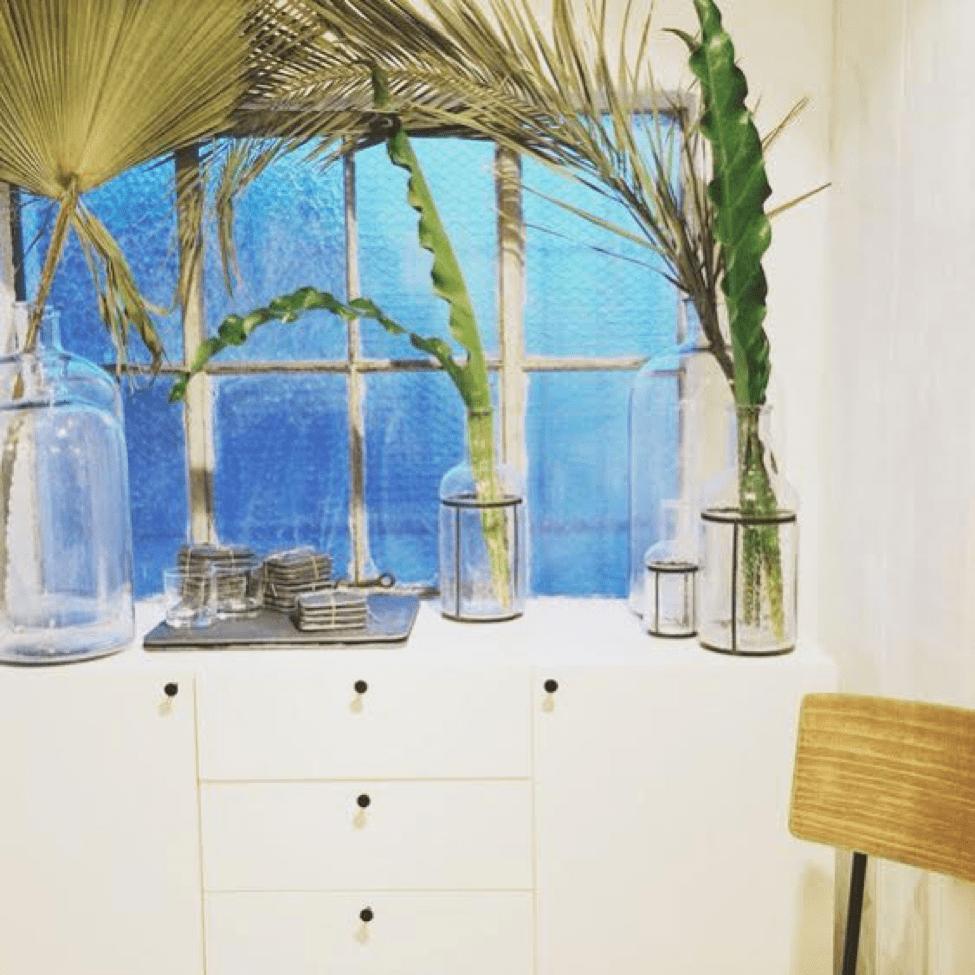 Saffron & Sage Greeneries by Window