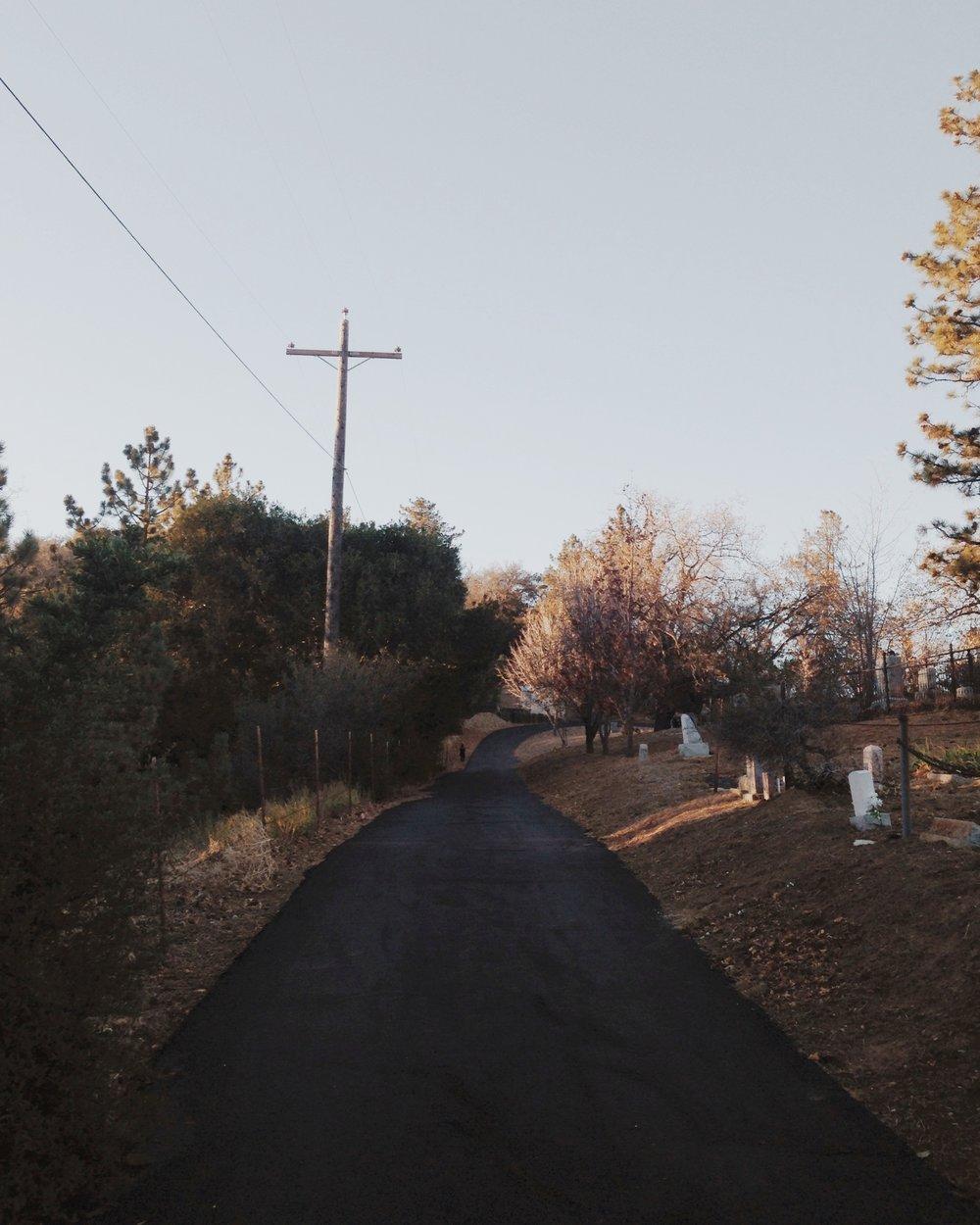 path-in-graveyard