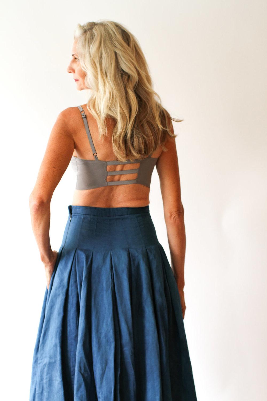 Skirt No.16 Indigo — ANCLIFFE 179c421dd