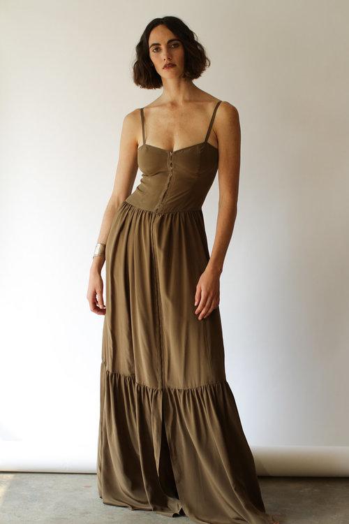 Silk Corset Dress Ancliffe