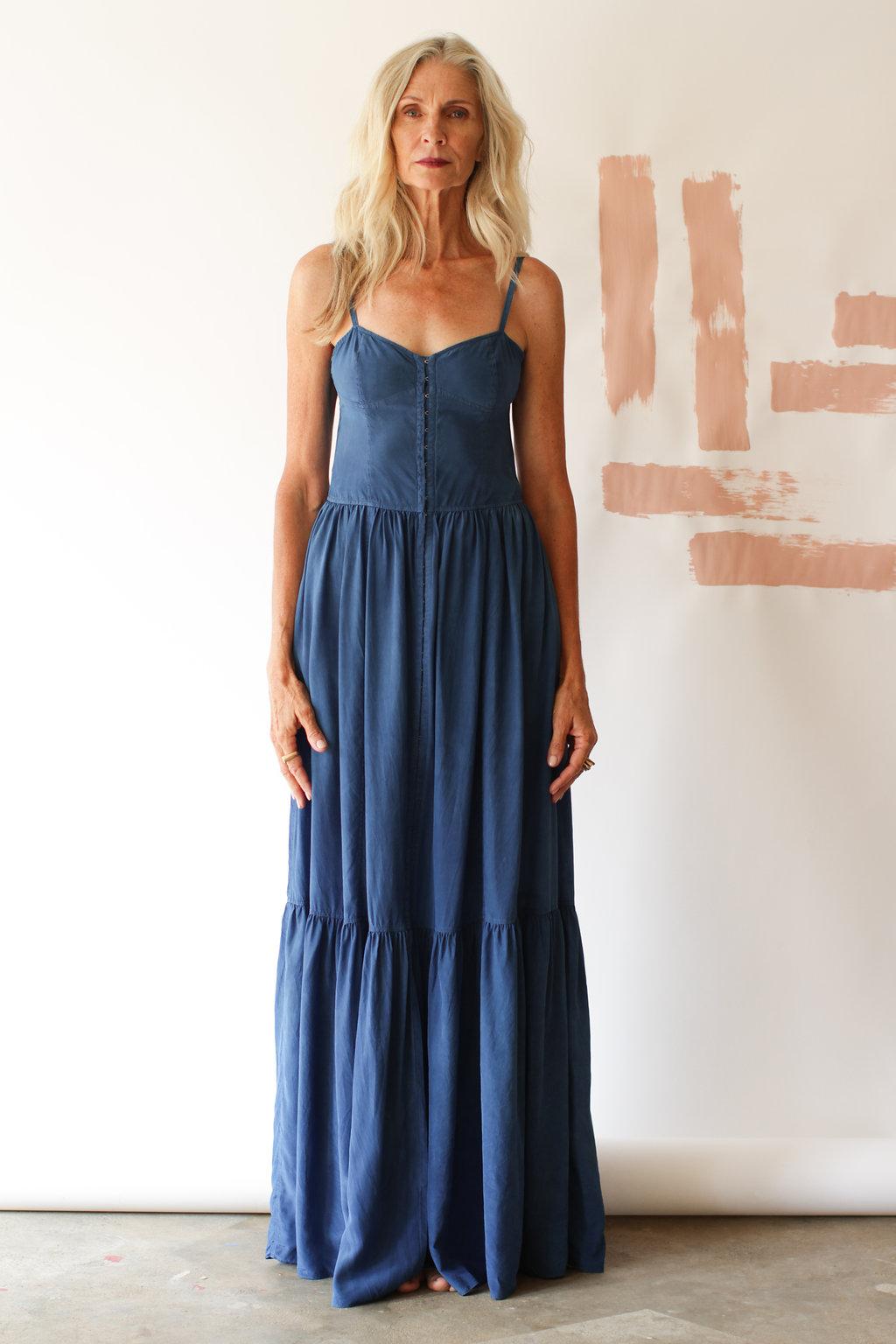Silk Corset Dress — ANCLIFFE