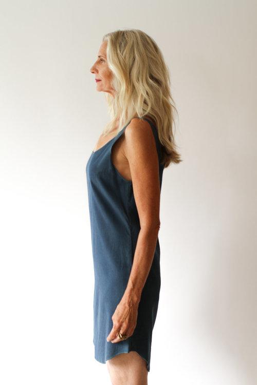 2ffb35f6316cf Silk Tank Dress — ANCLIFFE
