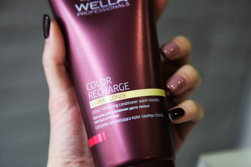 Color Recharge : Warm Blonde