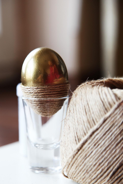 String Gold Easter Edd Ideeea DIY