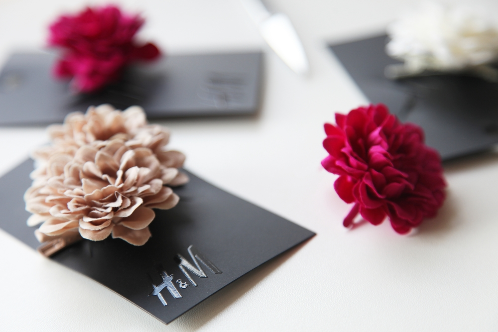 H&M floral Hairpin