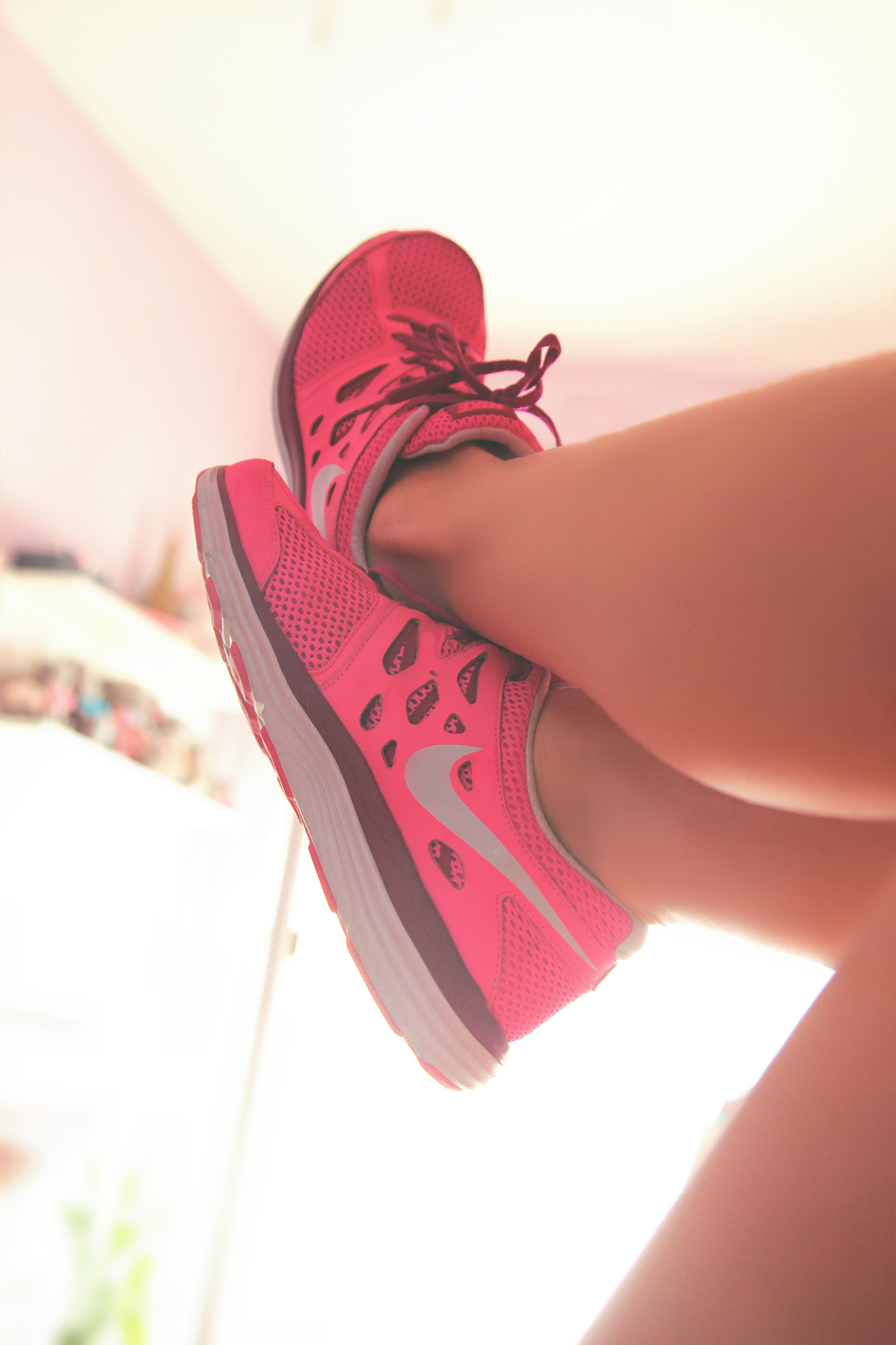 Pink Nike Running Shoes I DYROGUE