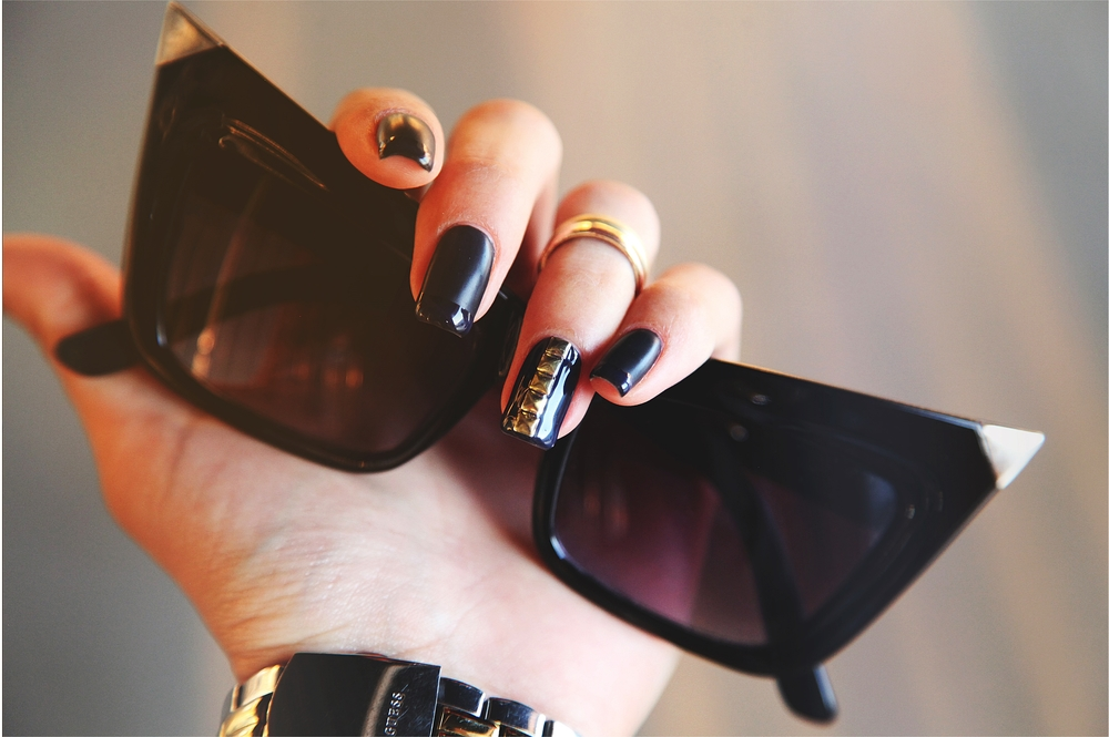 Glam Rock Mani by Nail Boutique on DYROGUE